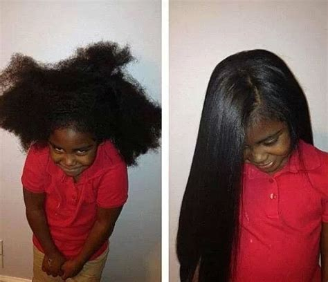 little girl haircuts before and after hair straighten little girl long hair natural hair