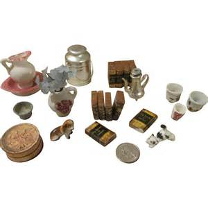 Vintage Items by Vintage And Antique Doll House Items From Nostalgicimages