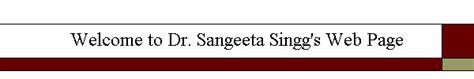 Welcome to Dr. Sangeeta Singg's Web Page Weather.com San Angelo Texas