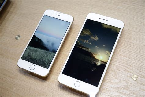 Iphone 6iphone 6 by The Apple Iphone 6 And Iphone 6 Plus Arrived Pictures Cnet