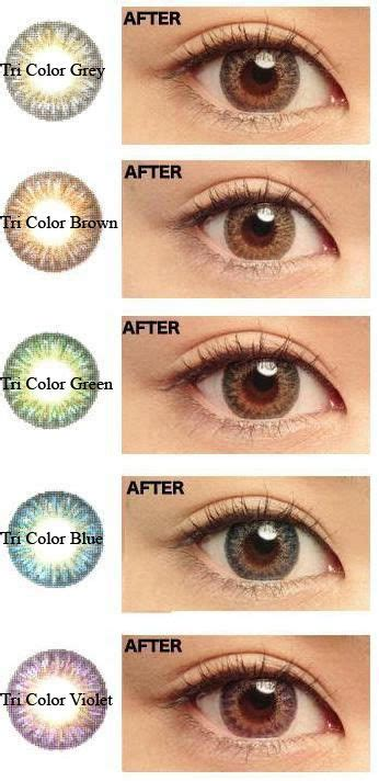 perscription colored contacts 17 best ideas about color contacts on