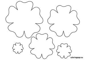 7 best images of printable templates paper flower paper