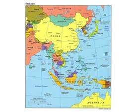 www map of maps of east asia east asia maps collection of