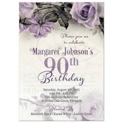90th birthday party invitations party invitations templates