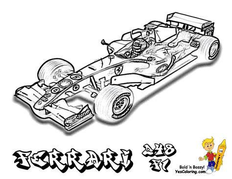 free ferrari coloring pages book for kids boys com free ferrari 1 coloring pages