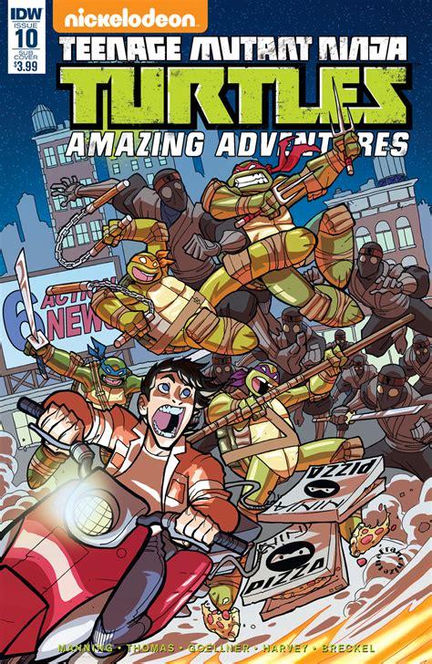 Amazing Adventures mar160348 tmnt amazing adventures 10 subscription var