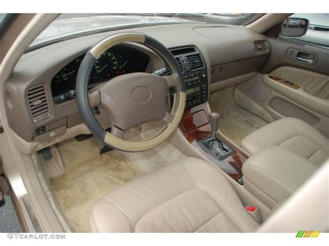 lexus ls400 interior beige interior 1997 lexus ls 400 photo 41712738