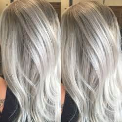 silver blonde haircolor 25 beautiful cool blonde highlights ideas on pinterest