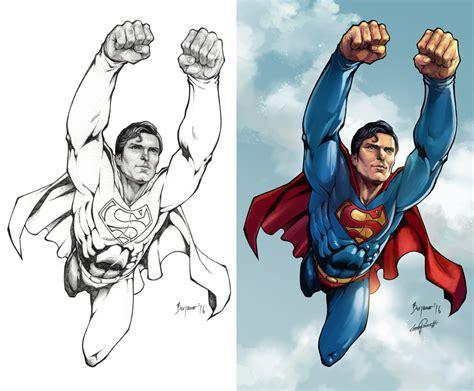 superman colors leonardo paciarotti leoarts superman 1978 christopher