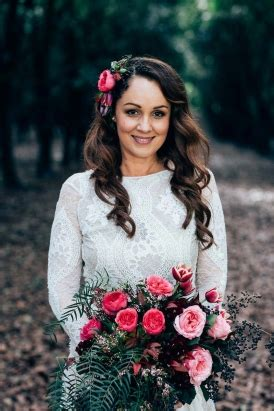 intimate & rustic newrybar wedding polka dot bride