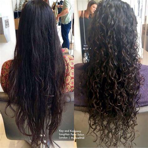 best salons to get a long spiral perm hair perm hairpermed permedhair hairperm n10