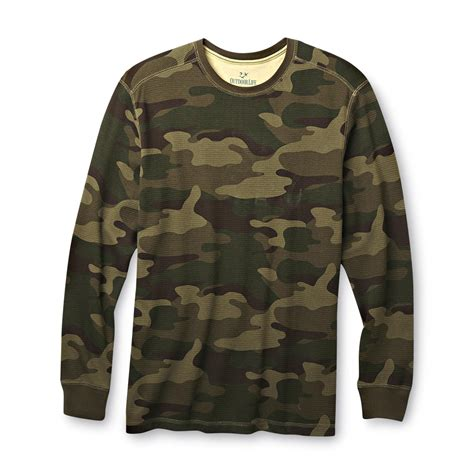 Camouflage Your Shopping by Outdoor S Thermal Sleeve T Shirt