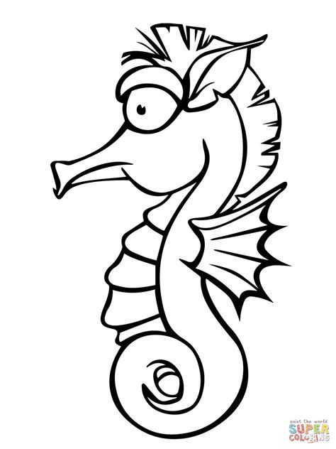 301 Moved Permanently Seahorse Coloring Pages