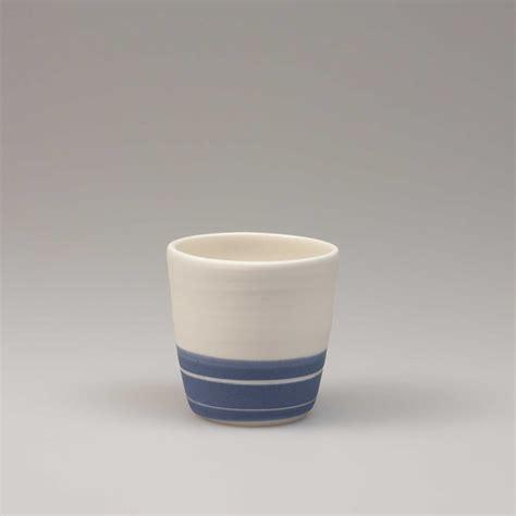 Handmade Espresso - porcelain espresso cup blue sky nr 4 jha porcelain
