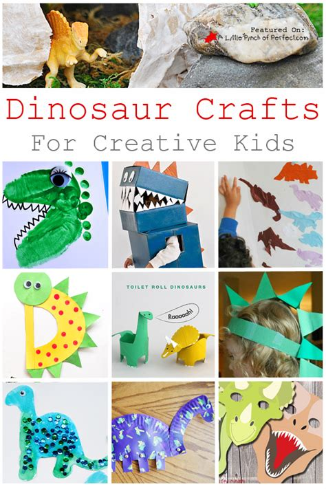 how to make a craft dinosaur for dinosaur crafts activities for to learn linky