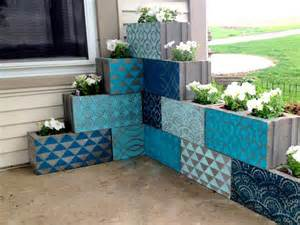 Backyard Paint Booth 16 Cinder Block Diys That Will Make Any Home On Point