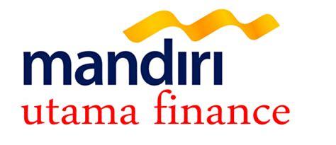pt mandiri utama finance logo kredit motor yamaha bandung