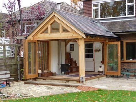 Garden Room Doors by Oak Frame Garden Room With Bifold Doors Can T Get More