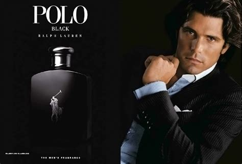 Parfum Polo Black advert of the fragrance polo black
