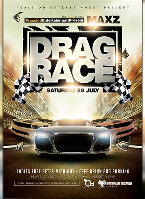 23 Racing Flyer Designs Psd Vector Eps Jpg Download Freecreatives Free Race Flyer Template