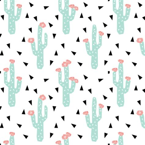 rose pattern font cactus flowers cute girly cactus with peach pink flowers