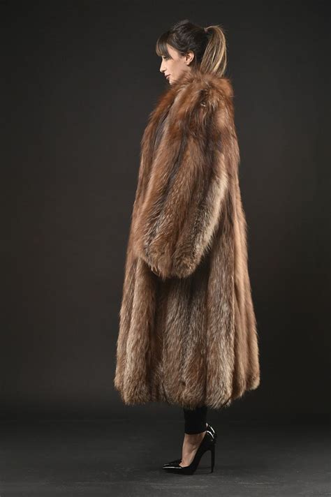 Parka 117 Gold Silver Bm 117 best fox fur images on furs fox fur and fur