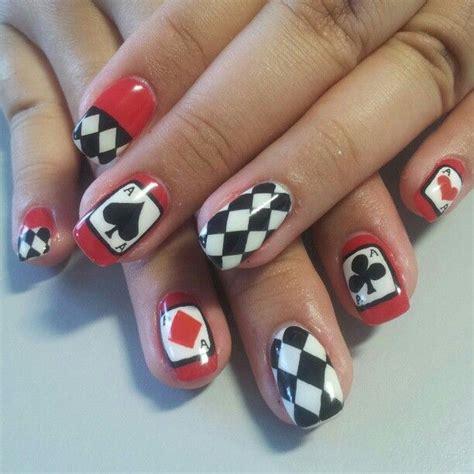 Nail Gift Card - 12 interesting card nail designs pretty designs