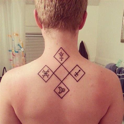 quincunx alchemy symbols tatts