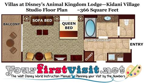 kidani floor plan theming and accommodations at disney s kidani