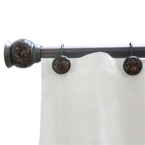 shower curtain tension rod best shower curtain rod tension home design ideas