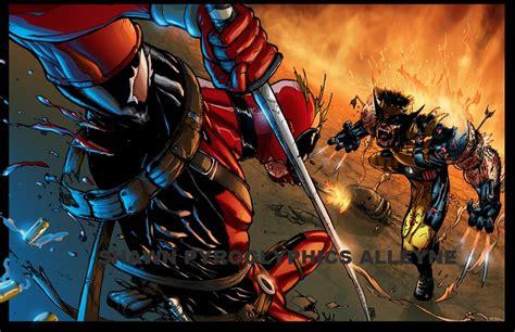 imagenes de wolverine vs deadpool deadpool vs wolverine by pyroglyphics1 on deviantart