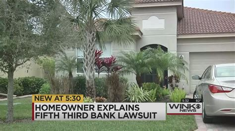 fifth third bank geeks out on its own ridiculous name in estero homeowner explains fifth third lawsuit wink news