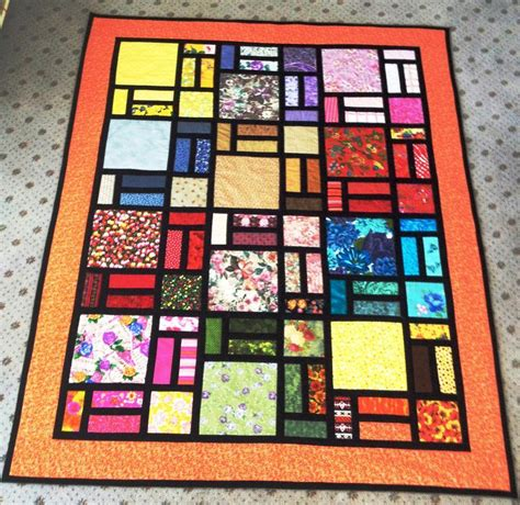 Quilt Pattern Stained Glass | stained glass quilt designed by bob by pam yeomans craftsy