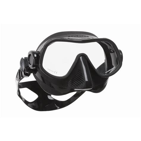 Mask Scubapro Steel Comp Black steel pro dive mask scubapro