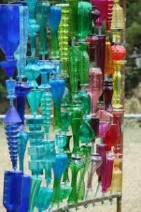 Garden art from recycled glass bottles shermanator s guns amp gardens