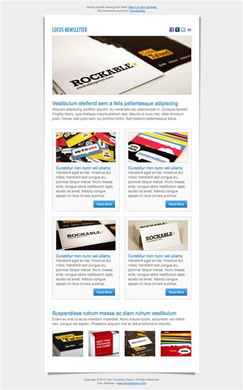 newsletter web design pinterest typography