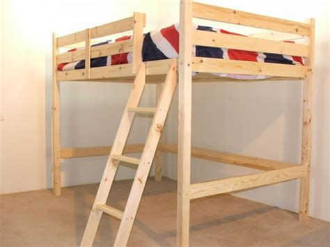 double loft bed ocsar 4ft small double loft bunk bed