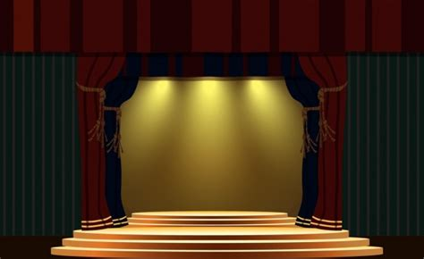 stage background design template stage design template classical style bright light