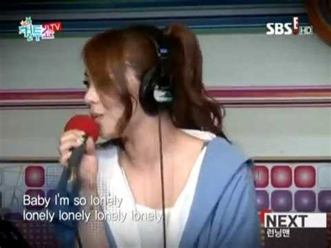 ailee lonely by 2ne1 ailee lonely 2ne1 radio show