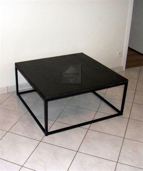 table basse acier noir table basse ronde blanche pas cher