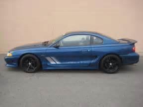 blue saleen mustang atlantic blue 1998 saleen s281 ford mustang coupe