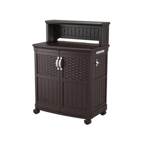 Suncast Patio Cabinet And Prep Station by Suncast Storage Cabinets Storage Designs