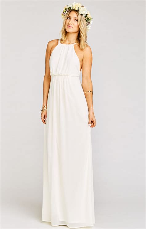 Dress Amanda amanda maxi dress wedding cake chiffon show me your mumu
