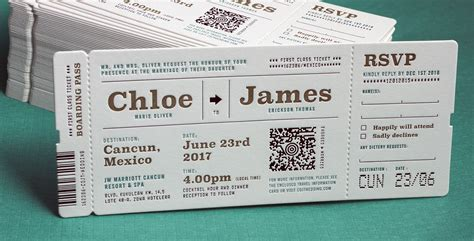 new style of wedding invitations mind blowing ticket wedding invitations theruntime