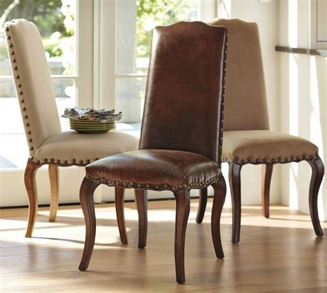 pottery barn calais chair dining rooms