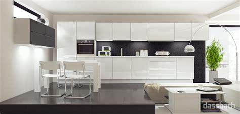 Küchen In Weiss by K 252 Che K 252 Che Wei 223 Hochglanz U Form K 252 Che Wei 223 Hochglanz U
