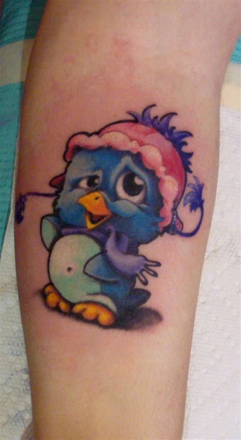 new school penguin tattoo penguin tattoo picture at checkoutmyink com