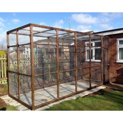 backyard runs bespoke outdoor cat runs cat enclosures and cat pens
