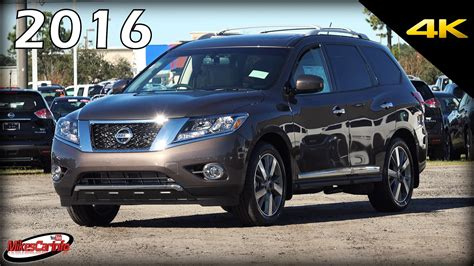 nissan pathfinder 2016 black 2016 nissan pathfinder platinum ultimate in depth look