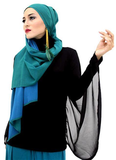 aksesoris hijab  tampil lebih gaya tutorial hijab